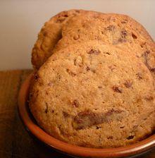 Cookies croustillants café speculoos et pépites de chocolat
