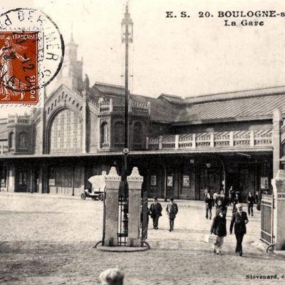 CP gare de Boulognes (coté cour)
