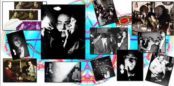 Histoire en images de la dernière promotion avant le BTS, 1962-1964. Copies écrans de quelques doubles pages.