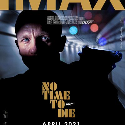 No Time To Die:  Latest one designed by MT for IMAX (India)