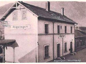 Livre de Roland SEBBEN - ALGRANGE Cité aux 4 mines -  La ligne de chemin de fer et ses gares (26)
