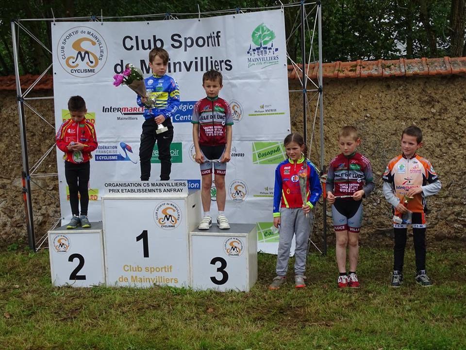 Un prix d'équipe pour l'école de cyclisme à Sandarville (28)