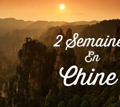 trip road via la Chine