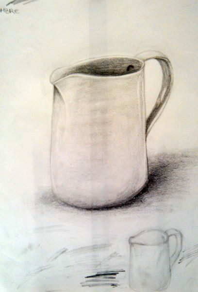 Ambre  Etude d'observation  A3, mine graphite