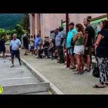 St André les Alpes  : Reportage vidéo et photos semaine bouliste