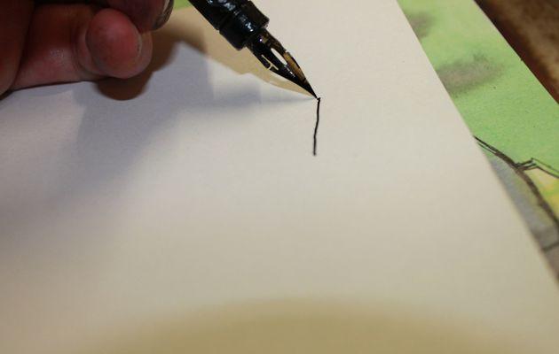 Comment je dessine à l'encre (méthode simple)