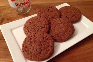 Biscuits au Nutella