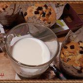 Muffins aux trois chocolats - Oh, la gourmande..