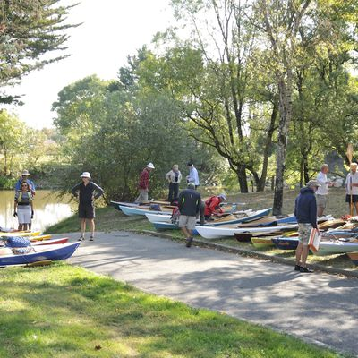 8ème Kayak Léo trophy vin vin dans le pays de Retz  les 12 et 13 septembre 2020