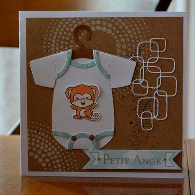 Carte de naissance Petit Ange