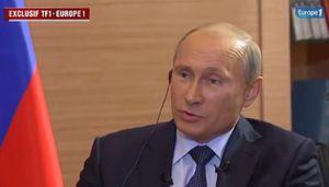 Traductions bidons et coupes dans l'interview de Poutine chez Bouygues & Lagardère