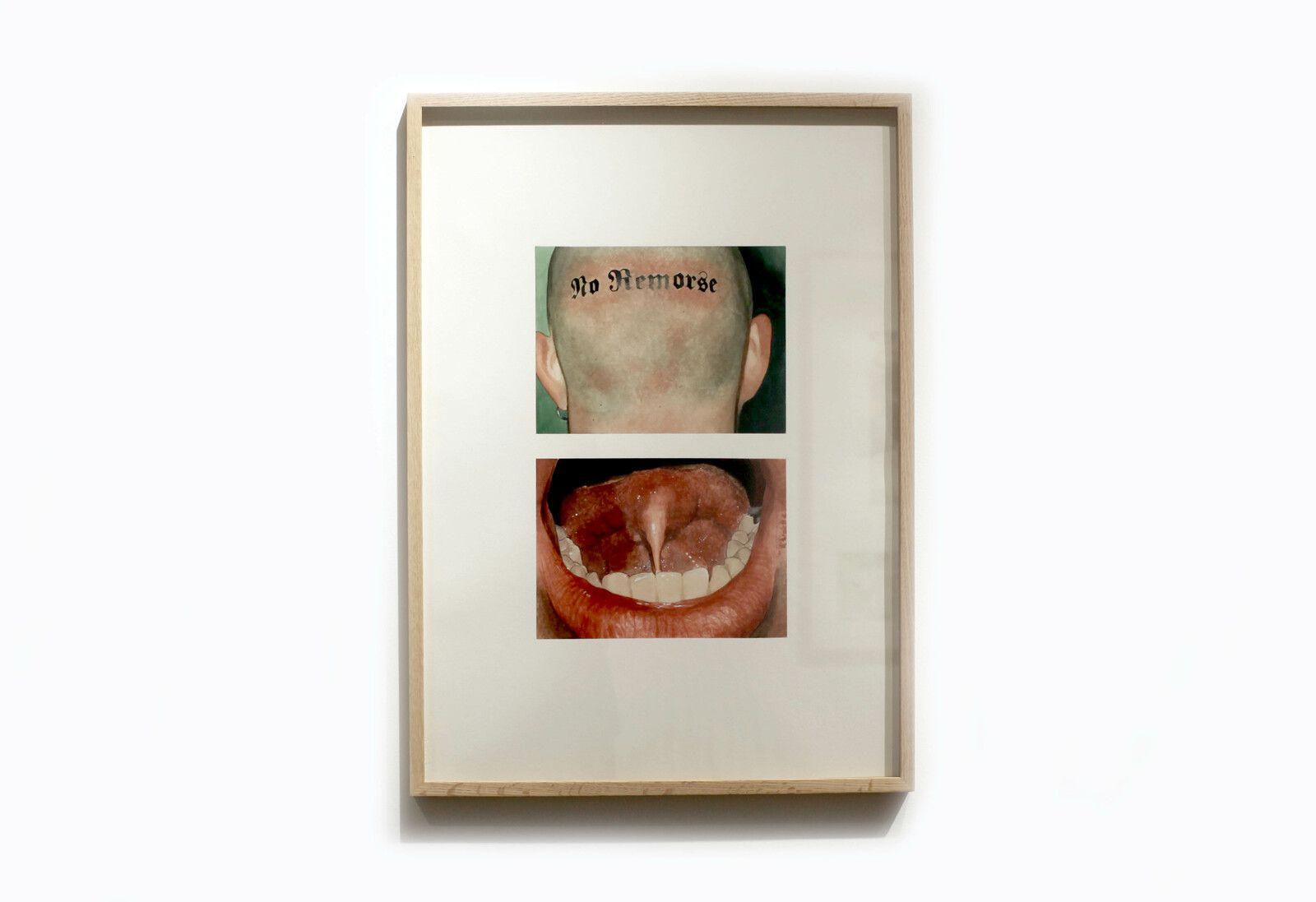 """""""No Remorse (De Profundis)"""", 2020 de Léo DORFNER - Courtesy de l'artiste et de PROJECT ROOM Claire GASTAUD © Photo Éric Simon"""