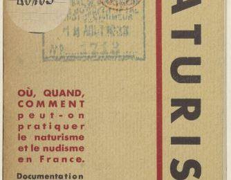 Dans le Guide Naturiste de 1933 : la naturisme des Durville