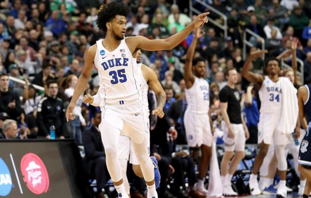 March Madness : Duke l'emporte contre Rhode Island