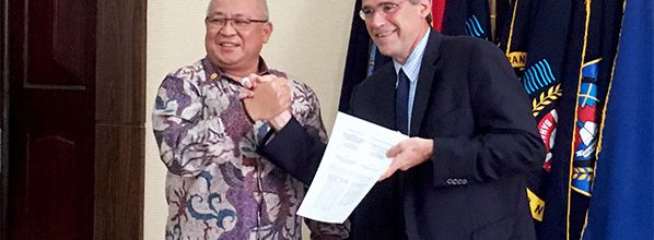 ENAC: New agreement with the Indonesian Ministry of transportation