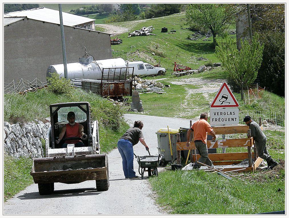 ROBION - SAMEDI 5 MAI 2018 , travaux citoyen de l'association la Robionnaise