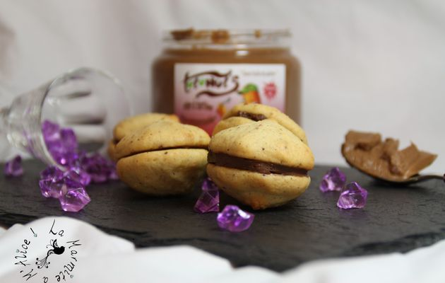 Whoopies au Sirop d'Erable & Noisettes, fourrage TotoNuts