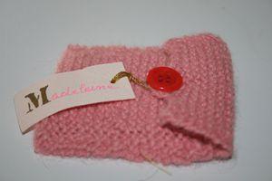Tricotage bapteme Madeleine