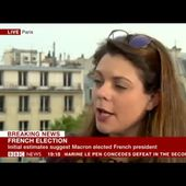 Sophie Rauszer sur la BBC - Dimanche 23 avril et 7 mai - France Insoumise - Benelux