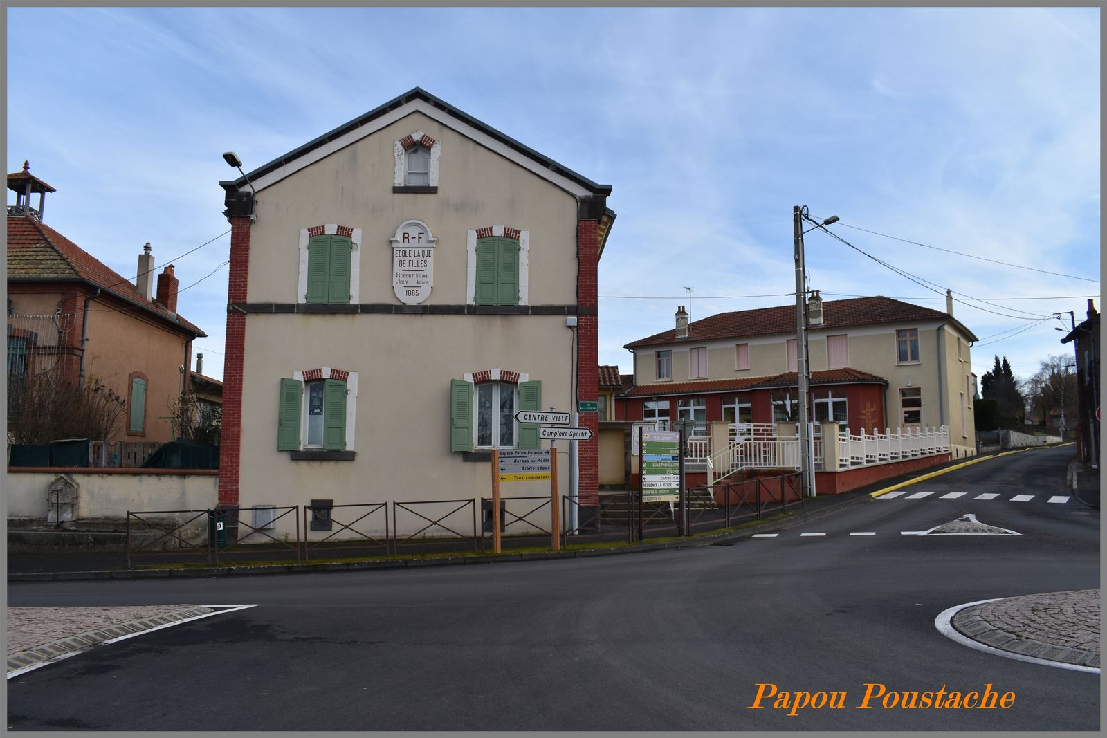 Le village de Vergongheon