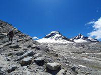Alpinisme, but au Ciarforon et ascension de la Tresenta 3610 m