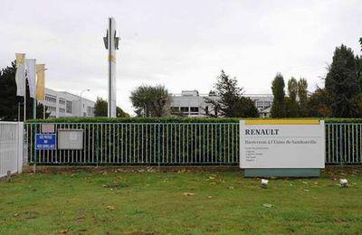 Un tribunal  ordonne une nouvelle  fermeture de l'usine Renault à Sandouville