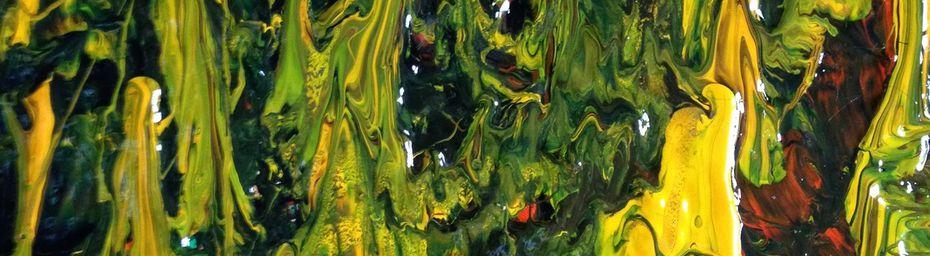 Peinture abstraite : Cultivez le Tillandsia Design :)