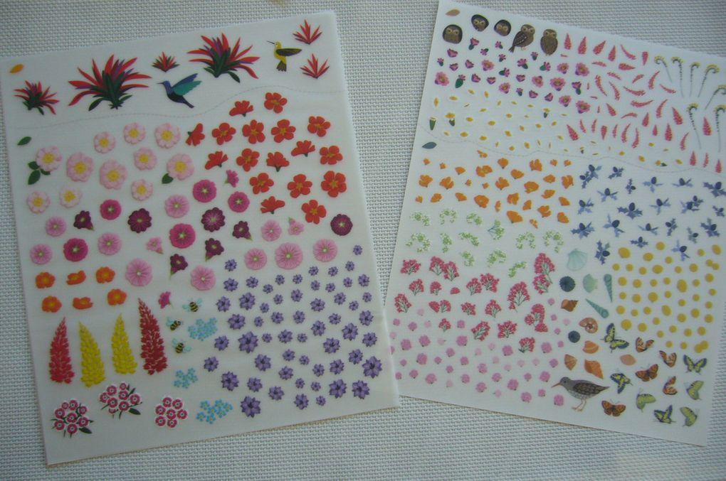 Livre de décalcomanies - Jolis jardins - Les Editions Usborne -