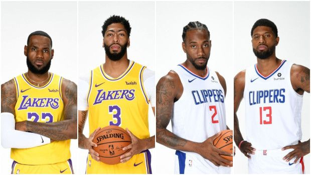Lakers vs Clippers : La bataille de Los Angeles qu'attend toute la NBA