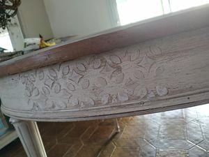 #artisanat   #tablerelookee #shabby #eleanorddeco  #pochoirrelief
