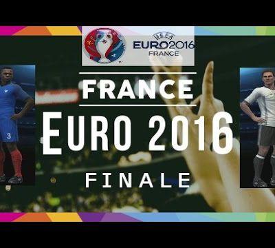 EURO 2016 -FINALE: FRANCE-ALLEMAGNE