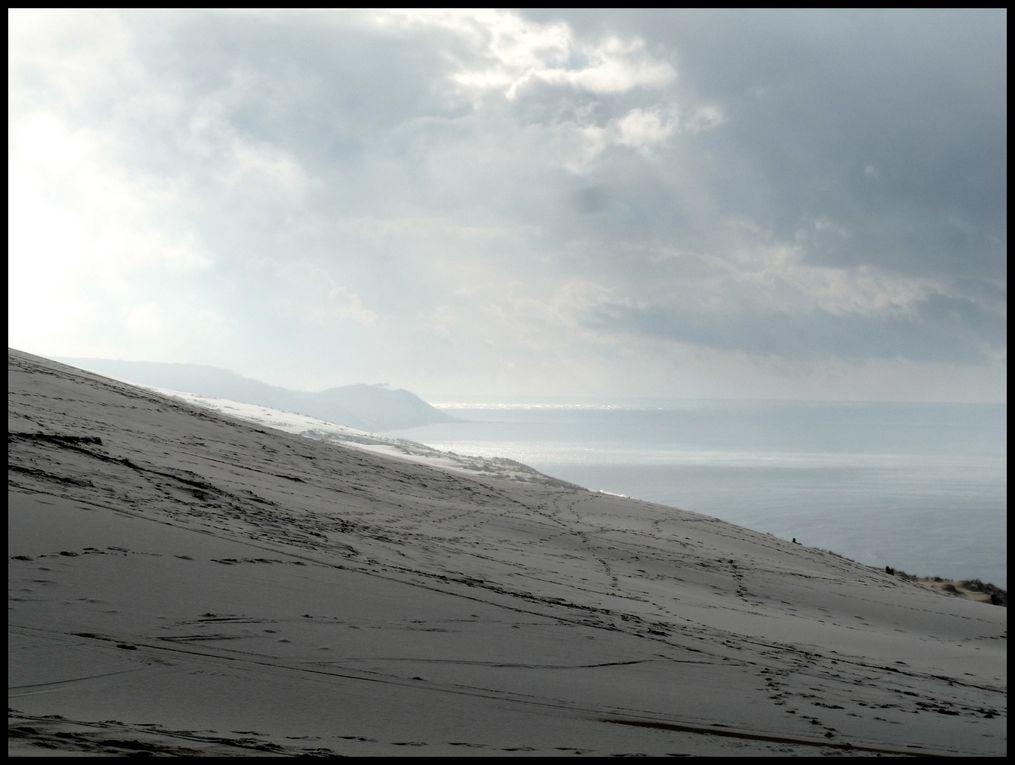 Neige sur le Bassin d'Arcachon Photo de Jany Vendredi 3 décembre 2010