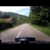 Goldwing - ballade Nord Alsace de Lembach vers l'Allemagne