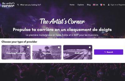 THE ARTIST'S CORNER ~ La 1ère marketplace à 360 °