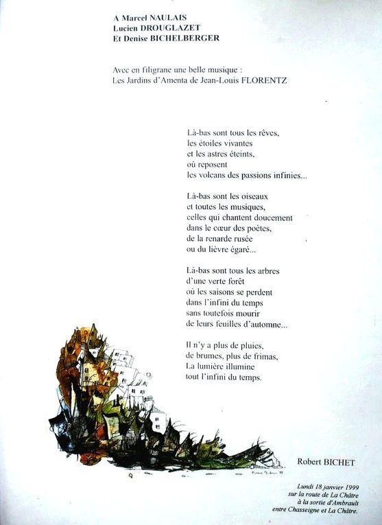 Poèmes illustrés par l'auteur.