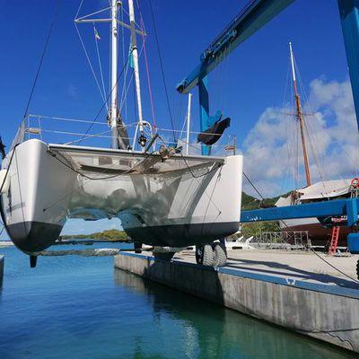 Carénage à Tyrel Bay Marina