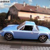 PORSCHE 916 COUPE 1971 BLEUE HIGH SPEED 1/43 - car-collector.net