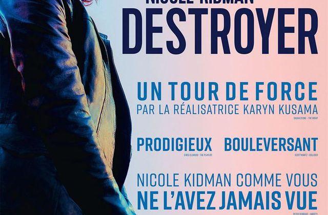 Critique Ciné : Destroyer (2019)