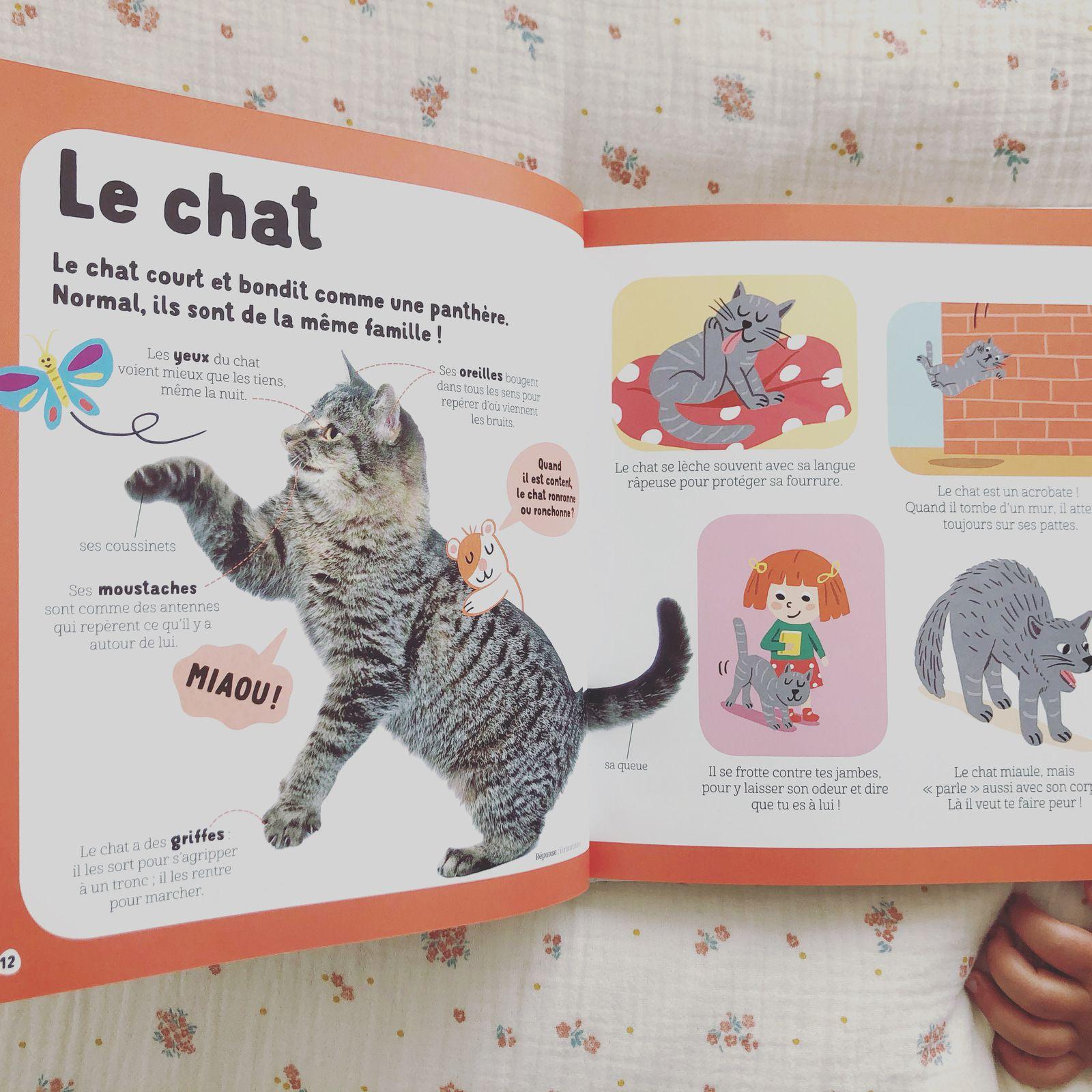 Mon livre des animaux