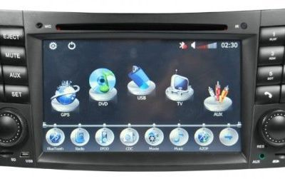 compare tv prices | Buying Piennoer Car GPS Original Fit Mercedes Benz E Class 6-8 Inch Touchscreen Double-DIN Car DVD Player  &  In Dash Navigation System,Navigator,Built-In Bluetooth,Radio with RDS,Analog TV, AUX & USB, iPhone/iPod Controls,steering wheel control, rear view camera input