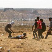 Palestine. Des blessures par balles de la taille d'un poing