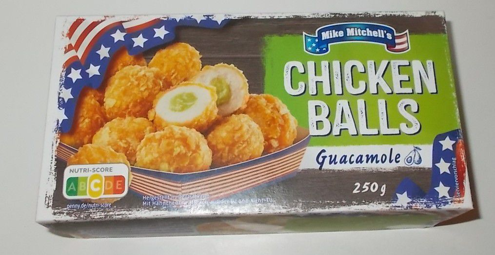 Penny Mike Mitchell's Chicken Balls Guacamole