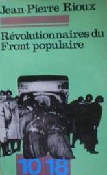 Révolutionnaires du Front Populaire