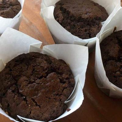 Muffins tout chocolat.