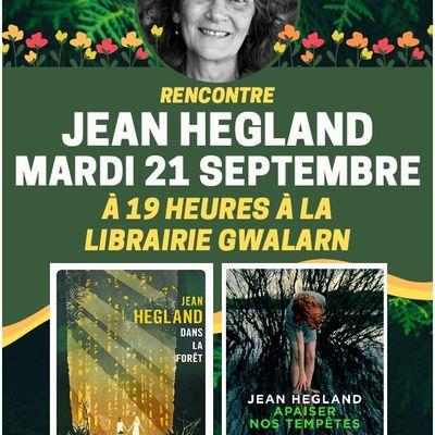 Rencontre exceptionnelle avec Jean Hegland