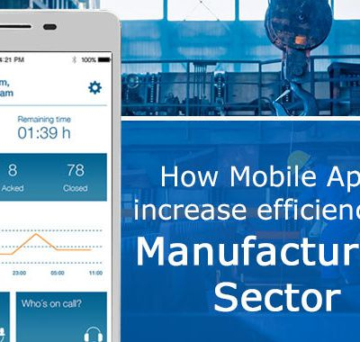 How mobile apps increase efficiency and reduce price for manufacturing industries