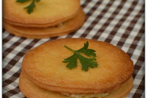 Biscuits fourrés Chèvre - Miel