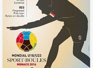 Valentin PERRAULT en 1/2 finale du mondial jeunes en doubles moins de 23 ans à Monaco