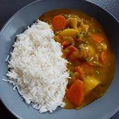 Curry de légumes japonais de Cyril Lignac dans tous en cuisine - Mes Meilleures Recettes Faciles