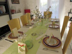 Si on décorait la table pour Pâques